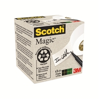 Teippi Scotch Magic 900 Eko 19mmx33m/3 rll pkt