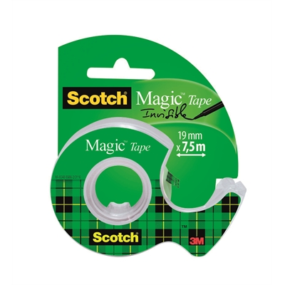 Teippi Scotch Magic 810 19mm x 7.5m katkoja