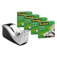 Teippi Scotch 810 19X33M 4rll+katkaisulaite C60