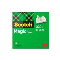 Teippi Scotch Magic 810 19mm x 66m - kasvi- ja kierrätysmateriaaleja sisältävä teippi