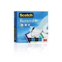 Teippi Scotch Magic 811 19mm x 33m - kasvi- ja kierrätysmateriaaleja sisältävä teippi