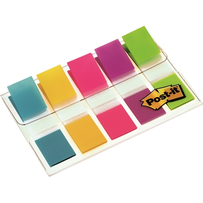 Teippimerkki Post-it index 12x43mm 683 5 väriä