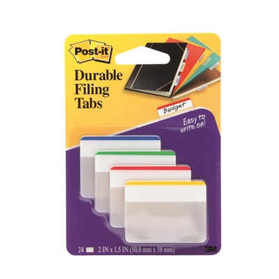 Teippimerkki Post-it 686F 38X51 suora 4 väriä