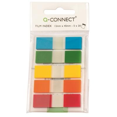 Teippimerkki Q-Connect 5x20 värilajitelma