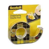 Teippi Scotch 136D 12X6m 2-puolinen katkojalla