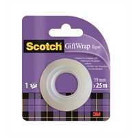 Lahjateippi Scotch GV1975 19 mm x 25m - upea satiininen pinta