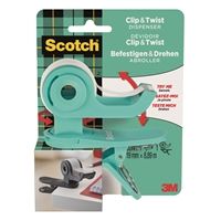 Teippiteline Scotch C19 Clip & Twist