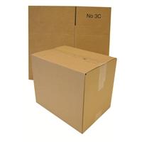 Pahvilaatikko - pakkauslaatikko 3C aaltopahvi A4