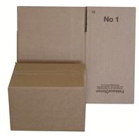 Pahvilaatikko - pakkauslaatikko 1 aaltopahvi