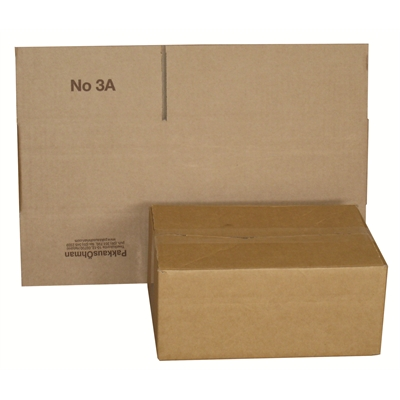 Pahvilaatikko - pakkauslaatikko A4 305x214x125/80 mm aaltopahvi