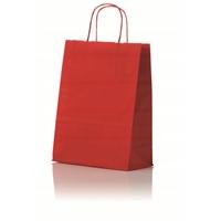 Lahjakassi L 320x120x410 mm punainen