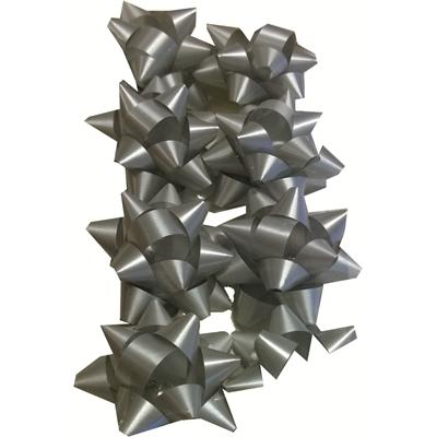 Lahjarusetti 50mm hopea 8 kpl/pss