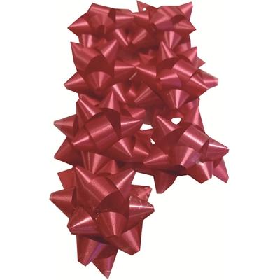 Lahjarusetti 50mm punainen 8 kpl/pussi