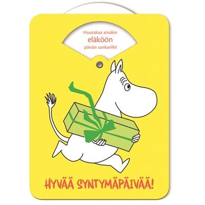 Kortti Maroy Muumi Hyvää syntymäpäivää