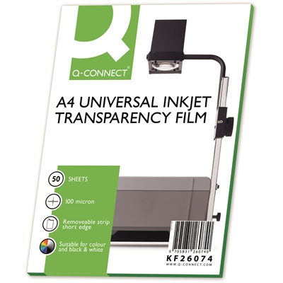 Mustesuihkukalvo Connect Inkjet A4/50 TN LS