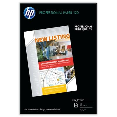 Photopaperi inkjet HP Q6594A matta 2-puolinen A3 120g/100