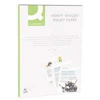 Photopaperi Q-Connect Heavyweight A4 140g/100 2-puolinen