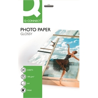 Photopaperi Q-Connect Glossy A4 180g/20