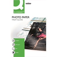 Photopaperi Q-Connect High-glossy A4 260g/20