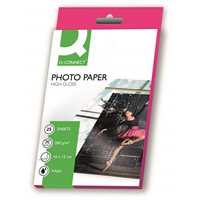 Photopaperi Q-Connect 10X15 High-glos 260g/25
