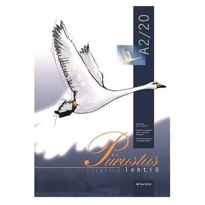 Piirrustuslehtiö 120G A2/20