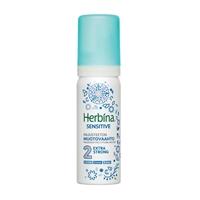Muotovaahto Herbina Sensitive Extra Strong 50 ml - hajusteeton, lämpösuoja, myös Curly Girl -tuote