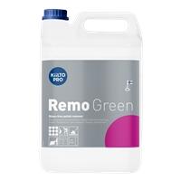 Vahanpoistoaine Kiilto Remo Green huuhteluvapaa 5 l - sopii emäksisyyttä kestäville lattiapinnoille