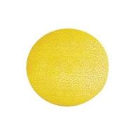 Merkintätarra lattiaan ympyrä /10 kpl erä keltainen - turvallisen välimatkan merkintään