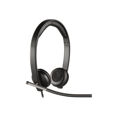 Kuuloke Logitech Headset H650e stereo - täysin ammattimainen äänenlaatu, katso ominaisuudet