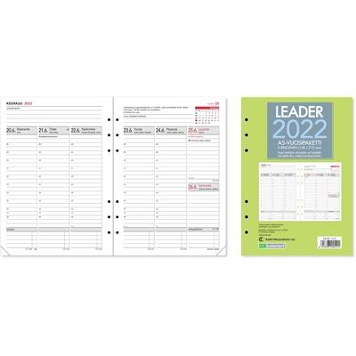 Leader-vuosipaketti, 6-reikäinen 2022 pöytäkalenteri - CC Kalenterit