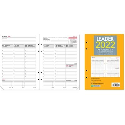 Leader-vuosipaketti  2/4-reikäinen 2022 pöytäkalenteri - CC Kalenterit