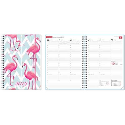 Ontime A5 2018 Dots pöytäkalenteri