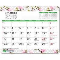 Hiirimattokalenteri 2019 magnolia