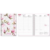 Ontime A5 Magnolia 2019  pöytäkalenteri