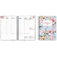 Ontime A5 Magnolia 2021 pöytäkalenteri - CC Kalenterit