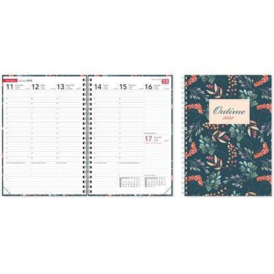 Ontime A5 Marjat 2022 pöytäkalenteri - CC Kalenterit