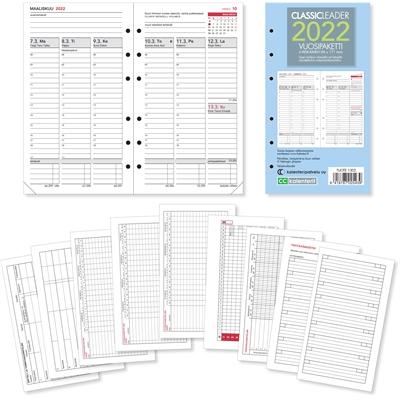 Classic Leader -vuosipaketti 2022 taskukalenteri - CC Kalenterit
