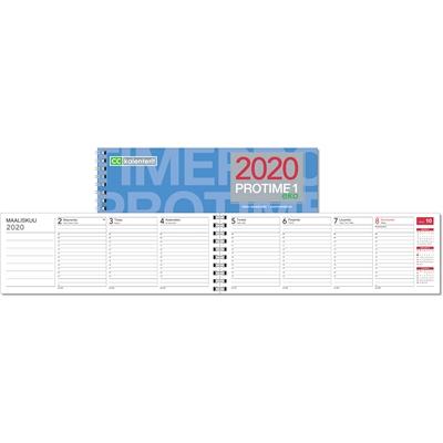 Protime 1 eko 2020 pöytäkalenteri - CC Kalenteripalvelu
