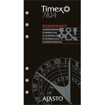 Timex 7 ja 14 - täydennyspaketti - Ajasto