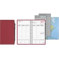 Leader 2020 punainen taskukalenteri - CC Kalenteripalvelu