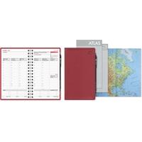 Leader 2021 punainen taskukalenteri - CC Kalenterit