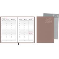 Date 2019 roosa taskukalenteri