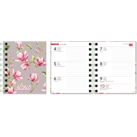 Ontime Mini Magnolia 2020 taskukalenteri - CC Kalenteripalvelu