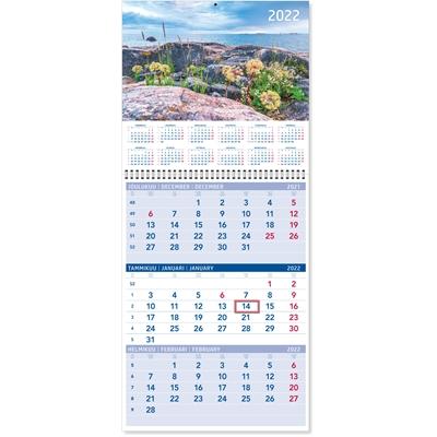 Triplanner suuri 2022 seinäkalenteri - CC Kalenterit