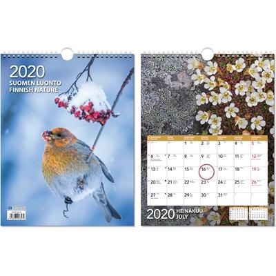 Suomen luonto 2020 seinäkalenteri - CC Kalenteripalvelu