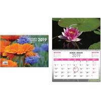 Puutarha 2019 seinäkalenteri