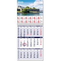 Triplanner pieni 2020 seinäkalenteri - CC Kalenteripalvelu