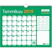 Office Plan 2019 seinäkalenteri