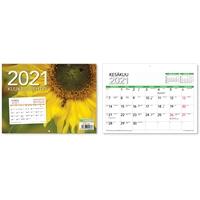Kuukausilehtiö 2021 seinäkalenteri - CC Kalenterit