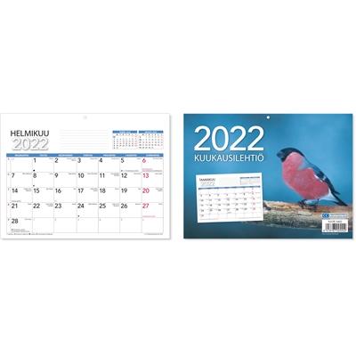 Kuukausilehtiö 2022 seinäkalenteri - CC Kalenterit